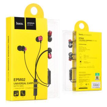 หูฟัง สมอลทอร์ค hoco EPM02 Universal Earphone