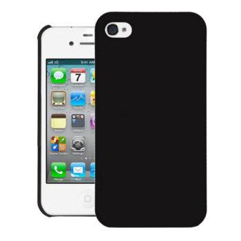 เคสไอโฟนดำด้านแบบแข็ง